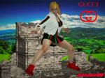 GUCCI GIRL Sophitia by Zapzzable100