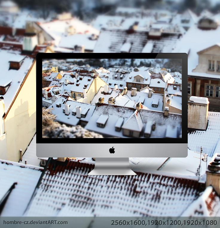 Prague in Tilt-Shift II by hombre-cz