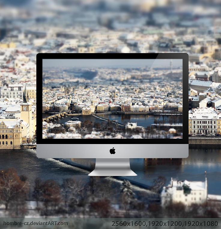Prague in Tilt-Shift III by hombre-cz