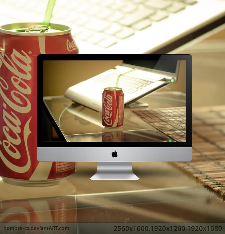 Coca Cola wallpaper by hombre-cz
