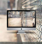 Wire Fence Wallpaper