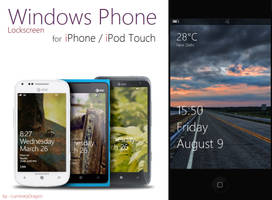 Windows Phone Lockscreen For iPhone by LuminaryDragon