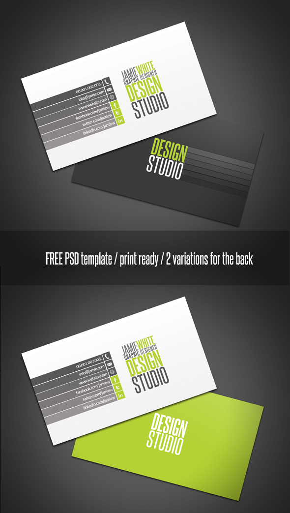 Professional Business Card by 24beyond