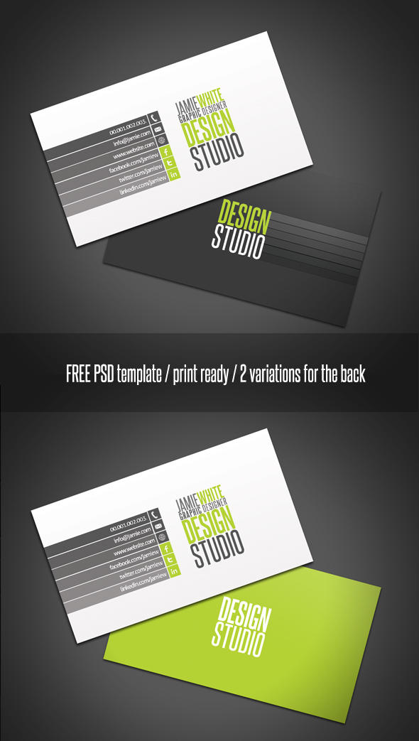 Professional Business Card by 24beyond on DeviantArt