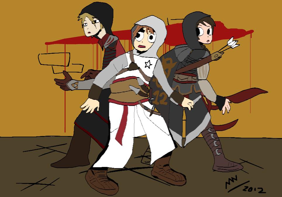 Saviors of Assassin's Creed by MAUWORLD274