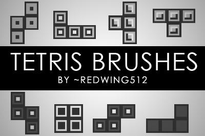 Tetris Brushes