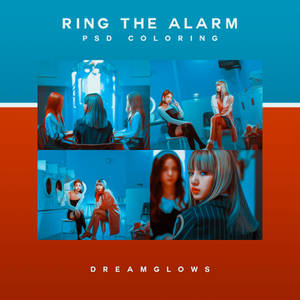 RING THE ALARM PSD COLORING