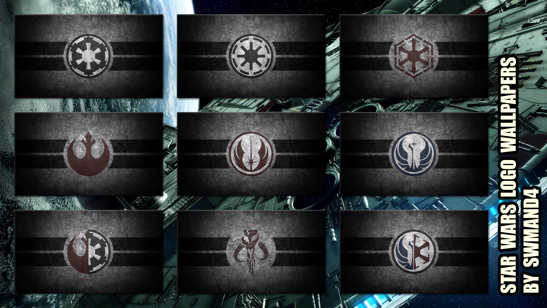 Star Wars Logos Wallpapers by swmand4