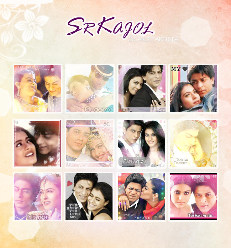 Srkajol Avatars by scarletartista