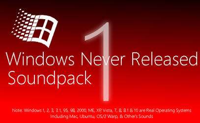 Windows Never Released Soundpack 1.0 by MinderiaYoutuber