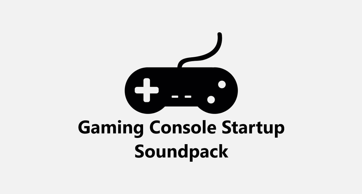 Video Game Consoles Startup Soundpack by MinderiaYoutuber on DeviantArt