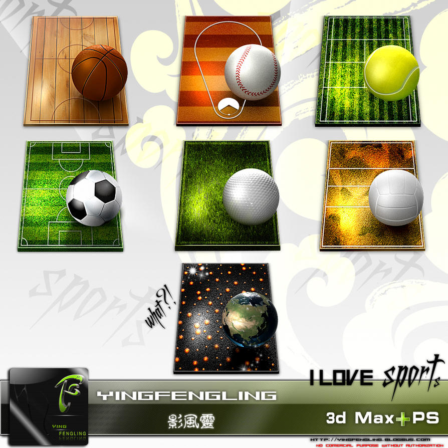 ICONS-I love sports by yingfengling-FL