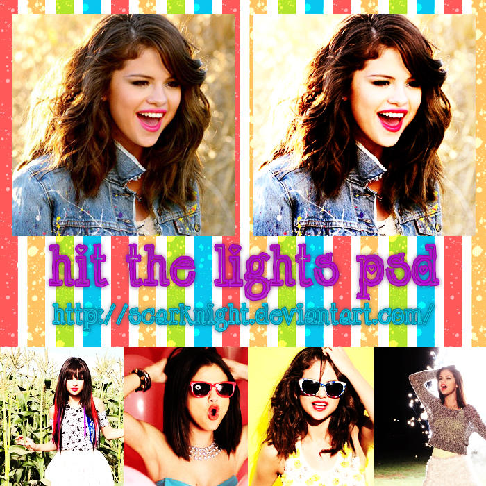 Hit the Lights PSD 3 by ScarKnight