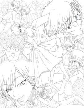 Alice n Wonderland - Color Me by angelnablackrobe