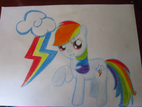 [GIF] Drawing Rainbow Dash