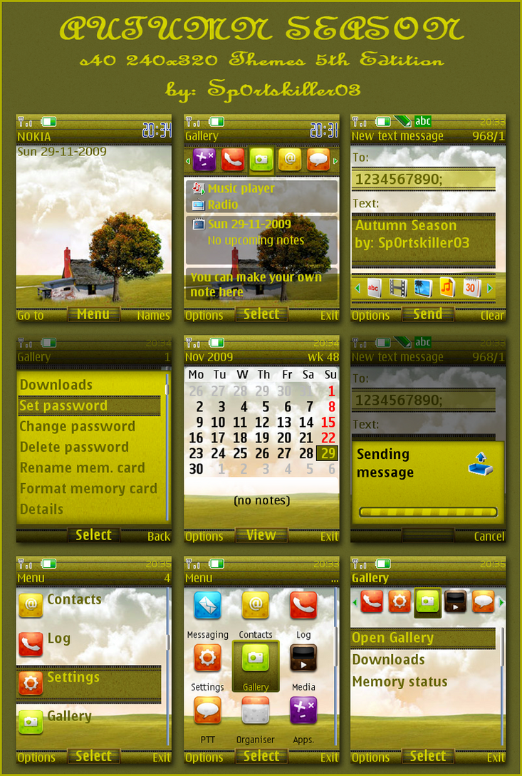 Google themes nokia 2700