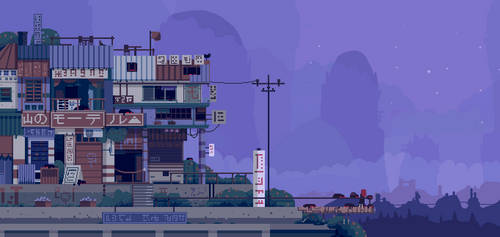 Mountain motel by faxdoc