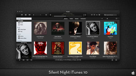 Silent Night iTunes 10 For OS X by AaronOlive
