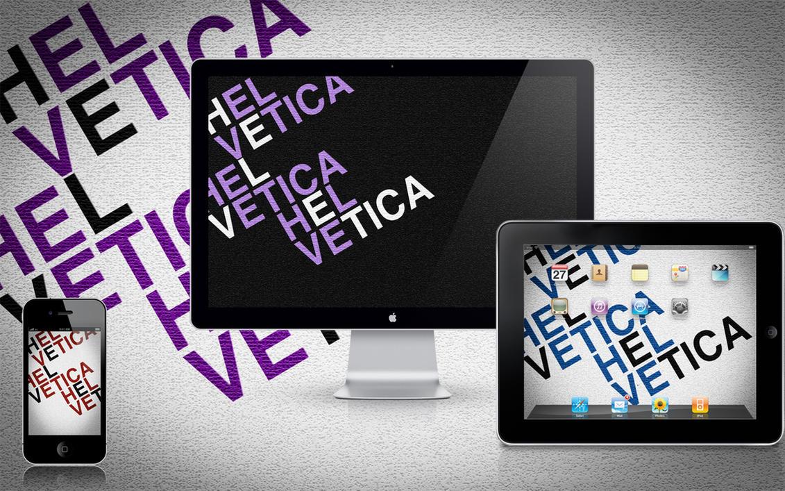 Helvetica by AaronOlive