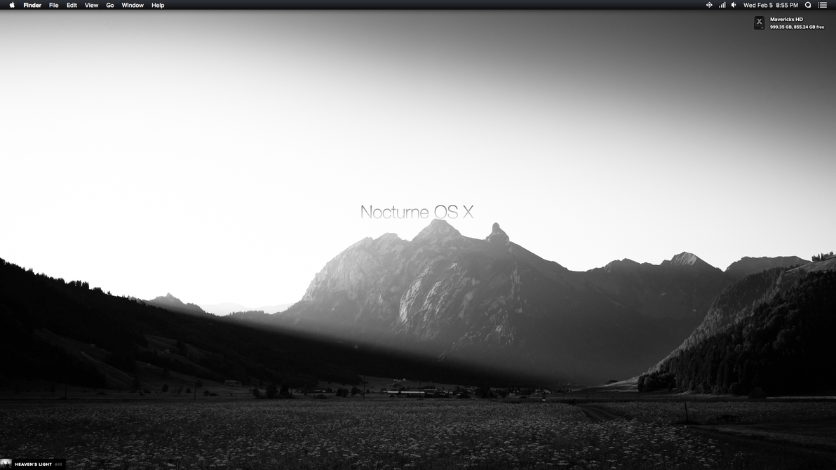 Nocturne theme for os x 10 9 x by aaronolive on deviantart for 10 x 10 x 10