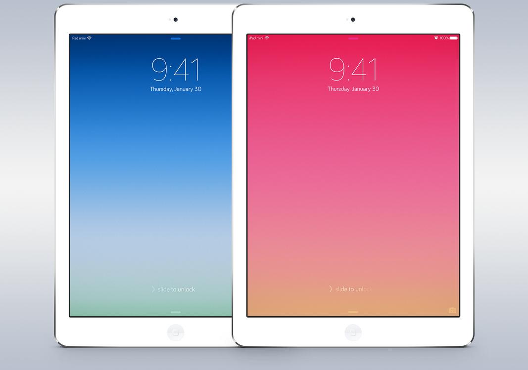 iPad Ad Walls by AaronOlive