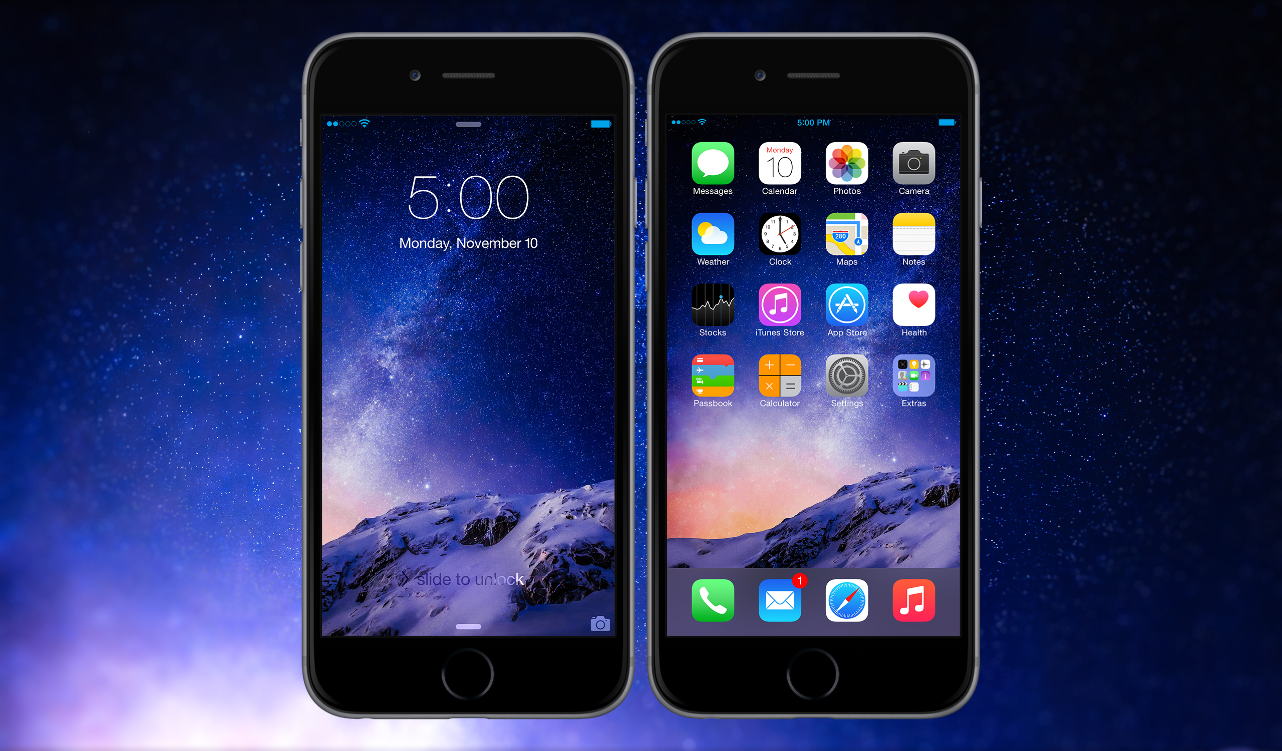 iPhone 6 Plus SS November 2014 by AaronOlive