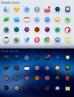Simple Icons by AaronOlive