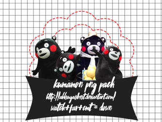 Kumamon Png pack #1 by AllSugaIsBest