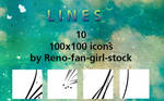 Lines - 100x100 iconset 2