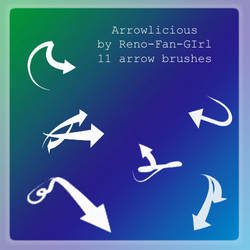 Brushset : Arrowlicious by reno-fan-girl-Stock