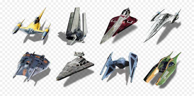 SW Starships by titanpsp