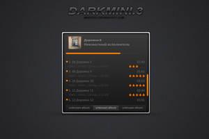 DARKMINI 3 [AIMP3] by MeryDev