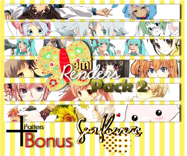 Pack Renders 2 - +bonus - by emiwah