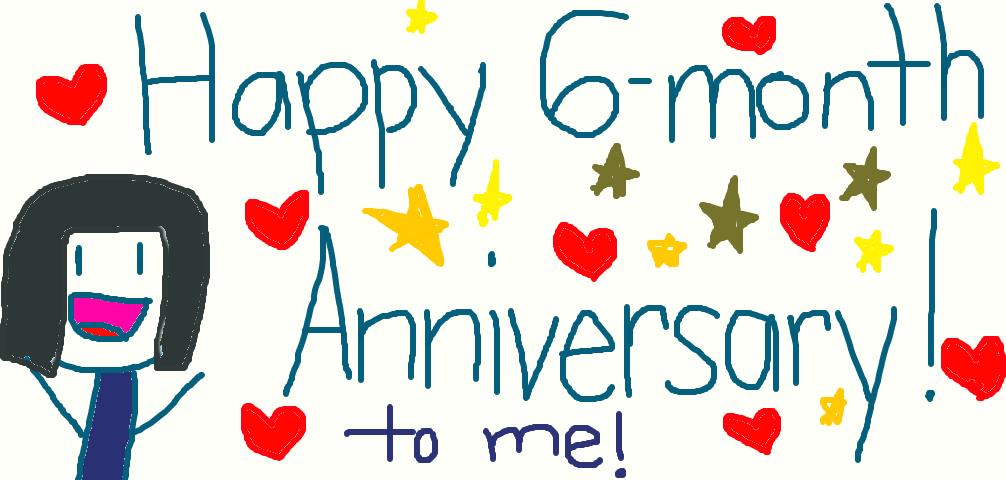 Anniversary month happy 6 35 Happy