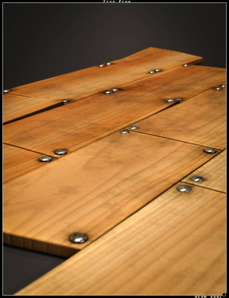 Free Wooden Floor by Aeon--Soul