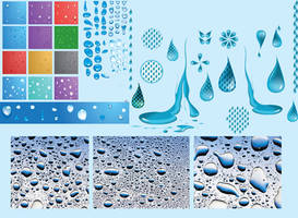 stocks Water drops by atilazz