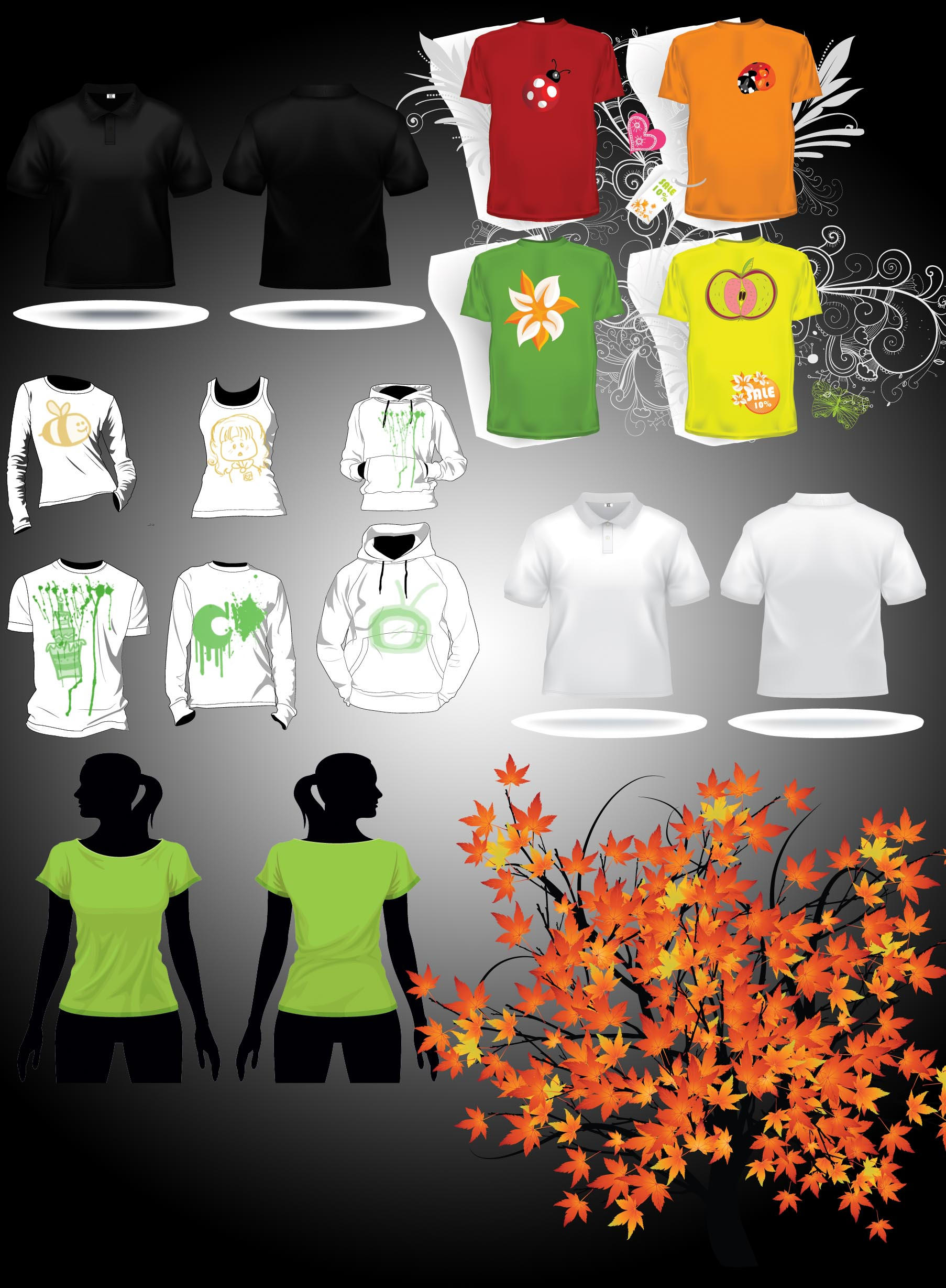 Template - Tshirt collection