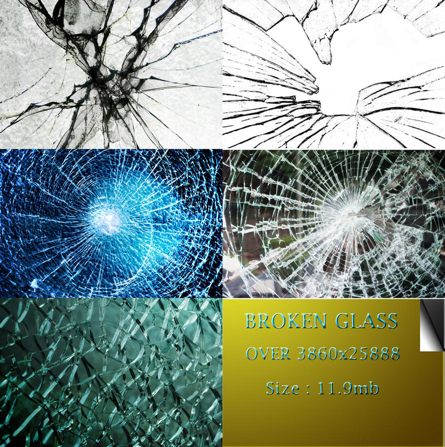best broken glass by atilazz