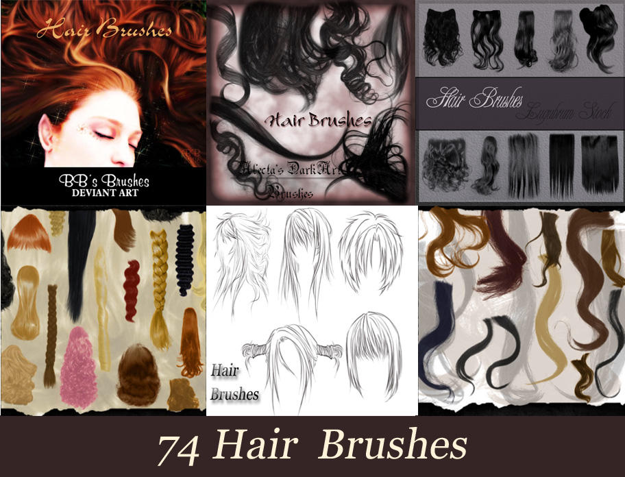 Download hair brushes for photoshop 7 0