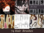 72 collection hair brush