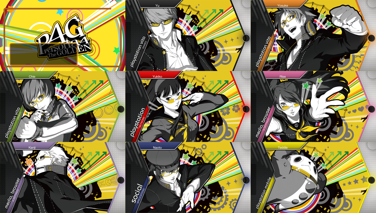ps vita - persona 4 golden theme packravenscythe18 on deviantart