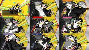 PS Vita - Persona 4 Golden Theme Pack