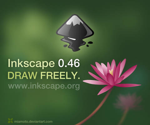 Inkscape 0.46 About Screen