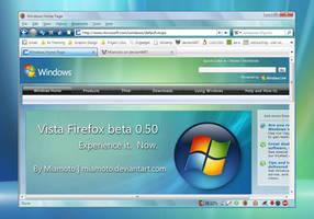 Vista Firefox beta 0.50 by Miamoto