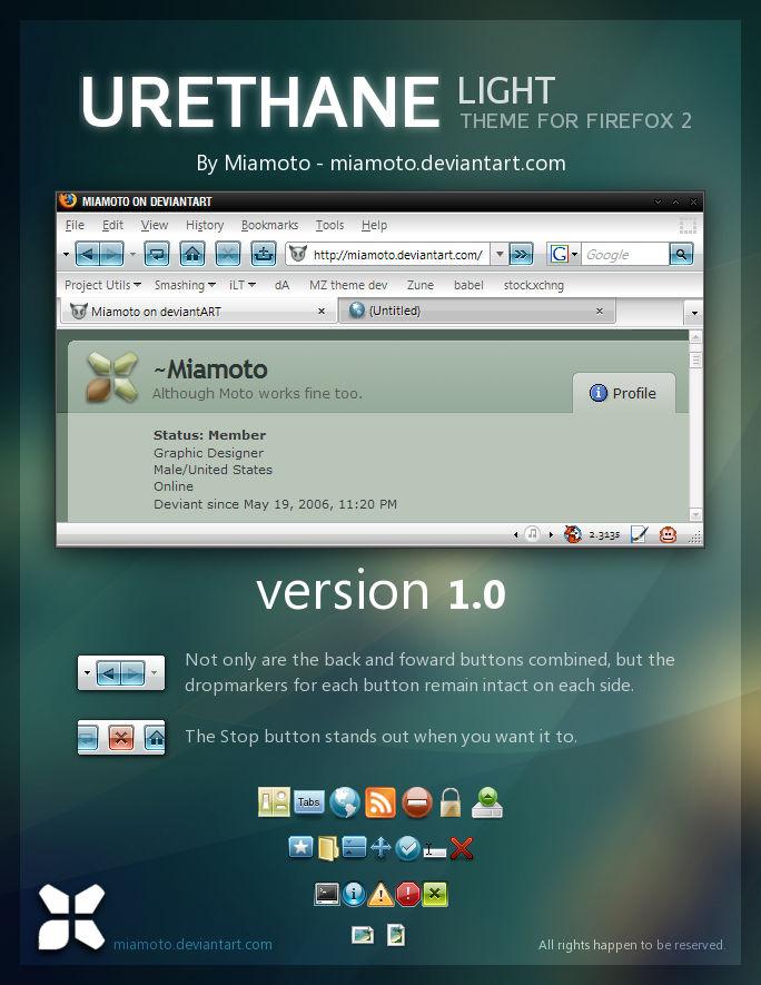 Urethane Light for Firefox 2