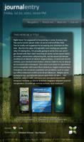 August Journal CSS