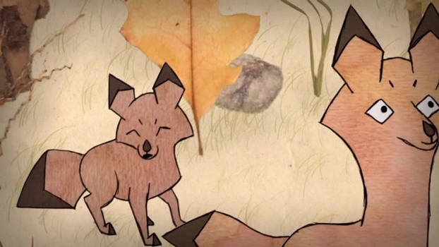 Wood Colored Foxes