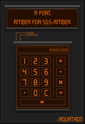 Amber for sgs-Amber by aquatron