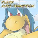Wait a second! - Flash-Vore transition