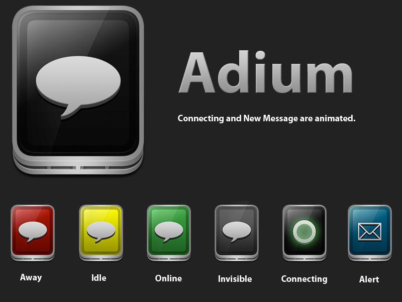 eqo Adium icon by Mphi5to